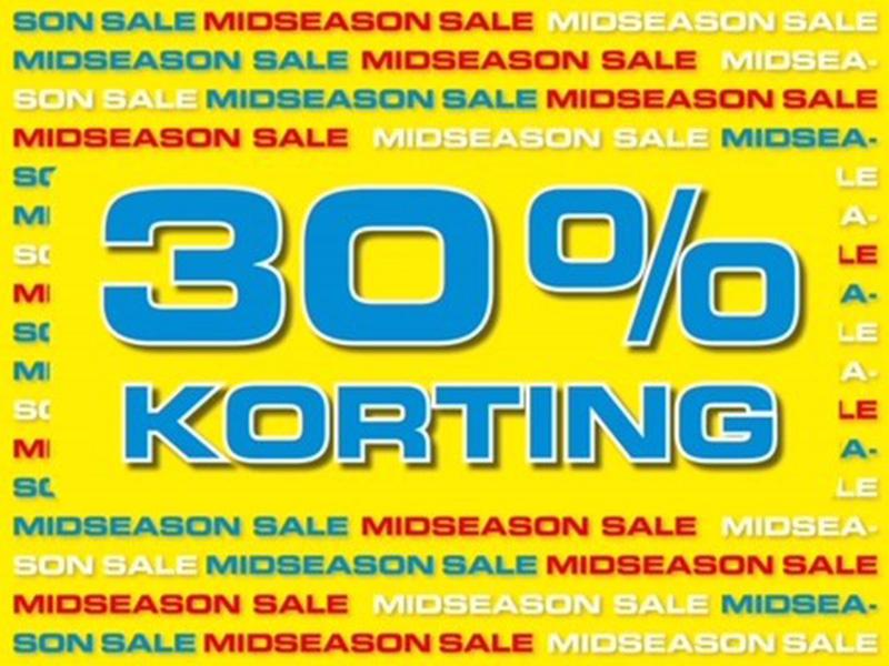Season Mid Sale 30 procent
