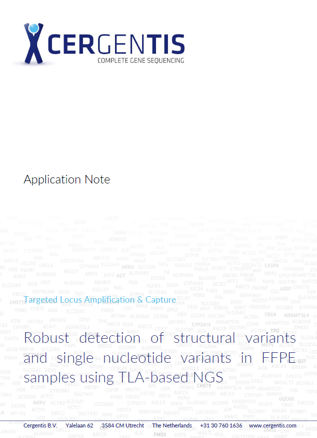 Robust detection of structural variants and single nucleotide variants in FFPE