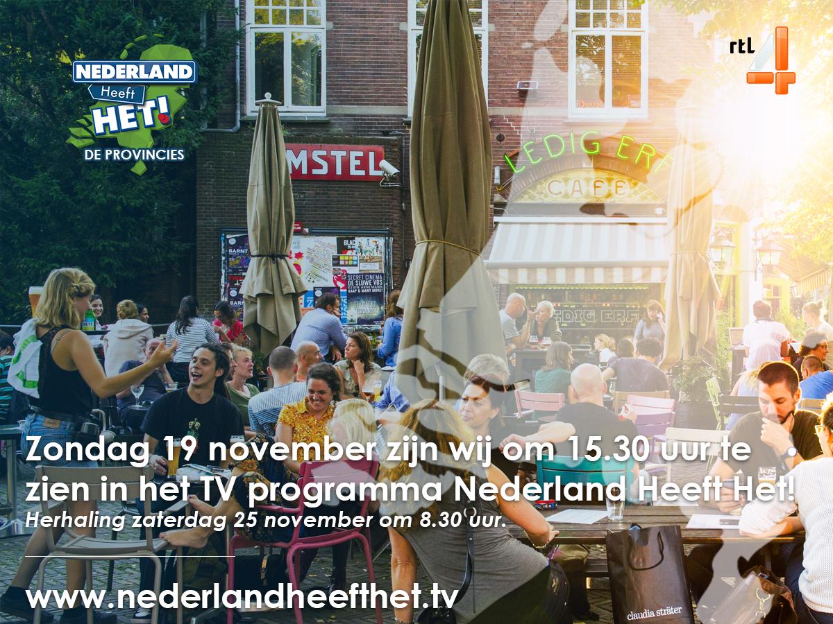 Datum uitzending van opnames 'Nederland Heeft Het'