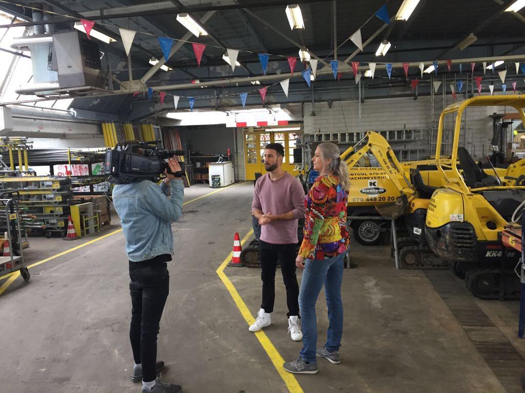 Opnames voor het RTL4 programma 'Nederland Heeft Het'