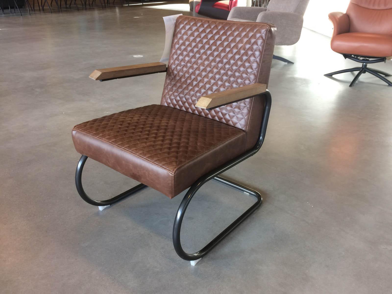Anette fauteuil Jaguar bruin