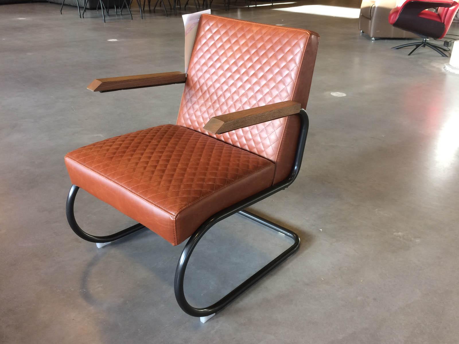Anette fauteuil Jaguar Cognac