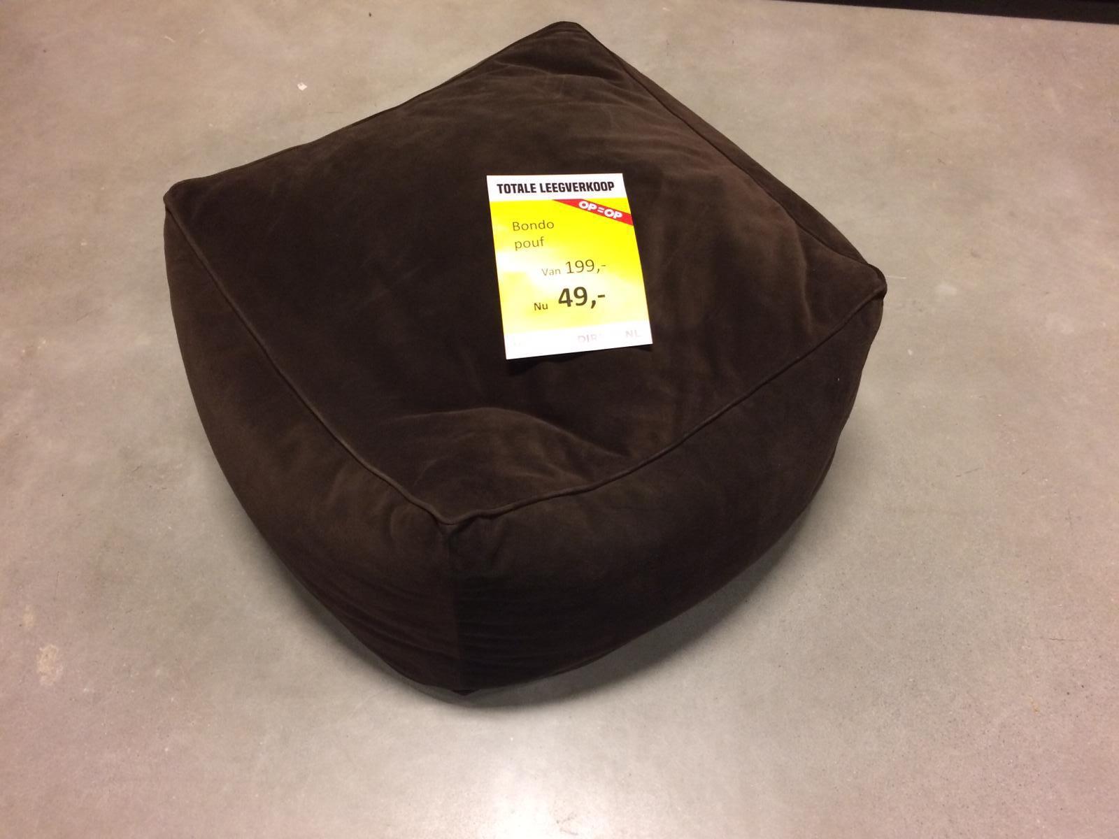 Bondo pouf bruin