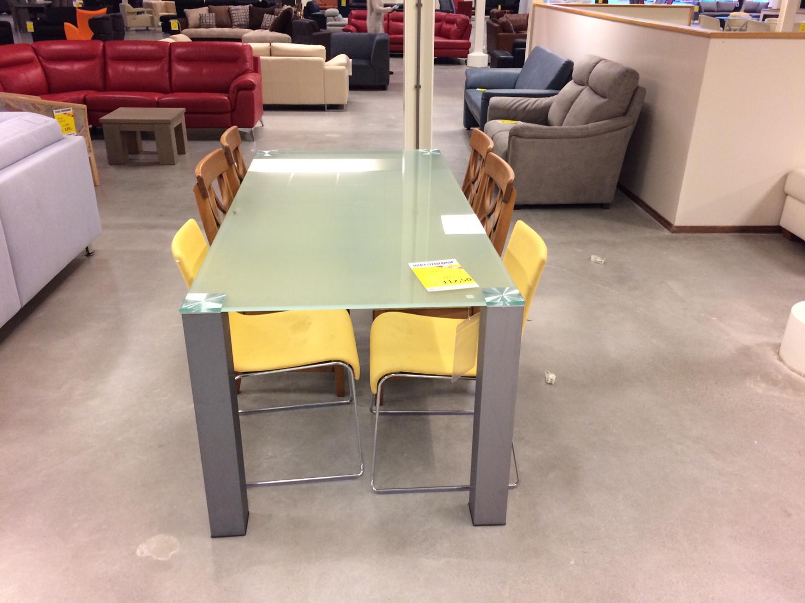 Eettafel glas
