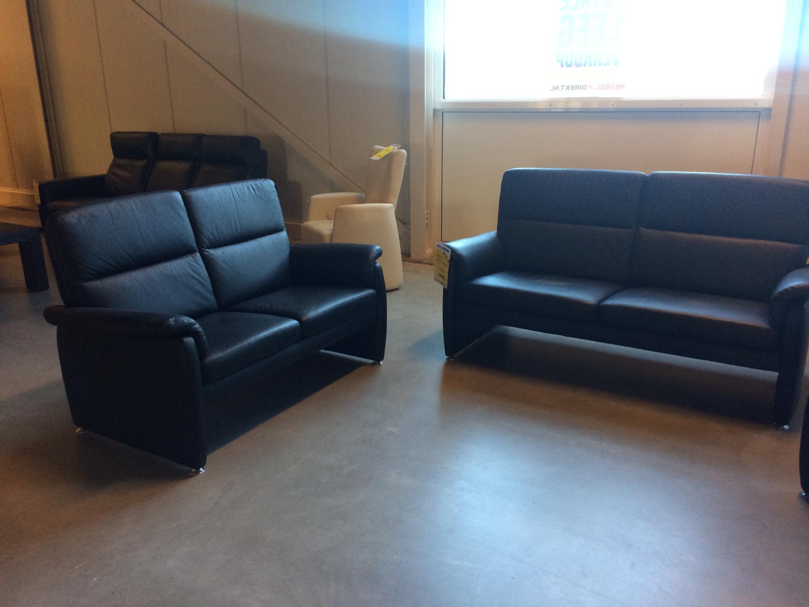 Schuler 3 + 2-zitsbank met fauteuil