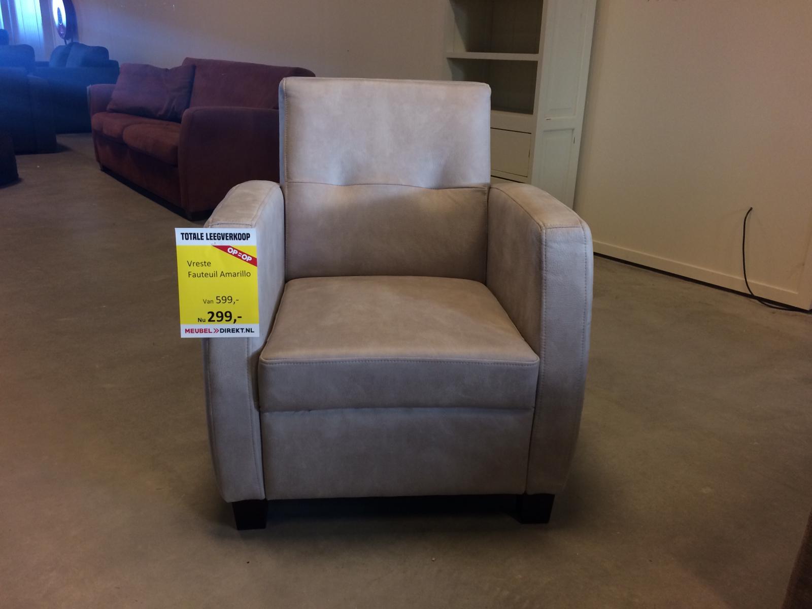 Vreste Amarillo fauteuil
