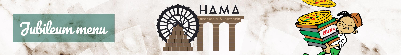 Jubileum menu Hama